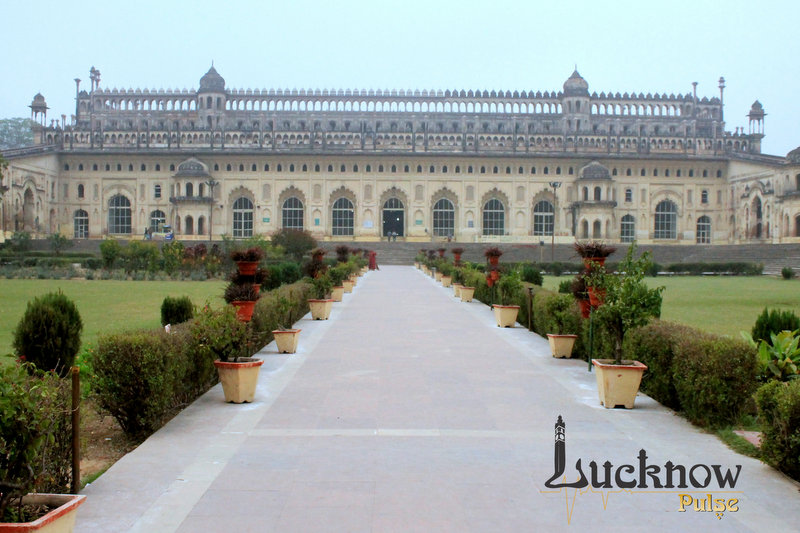 Picture showing Bhool Bhulaiya at Bada Imambara, Lucknow