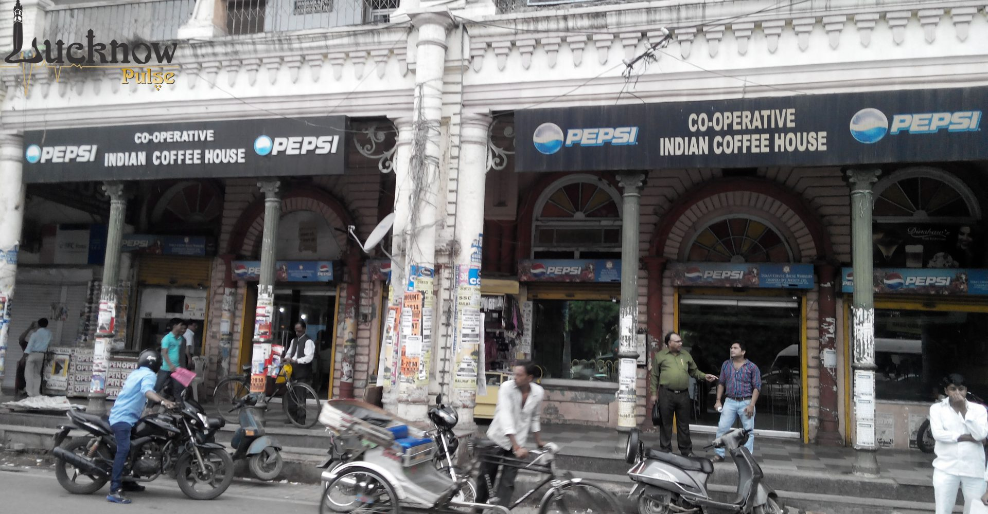 Lucknow Pulse picture of The Coffee House at Hazratganj Lucknow