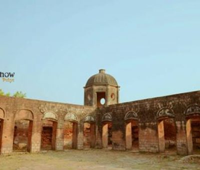 A picutre of ruins of Musa Bagh at lucknow