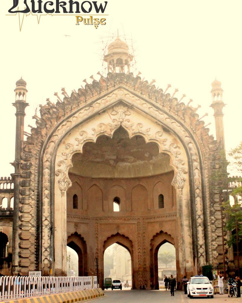 Picture of the historical Roomi Darwaza, Lucknow