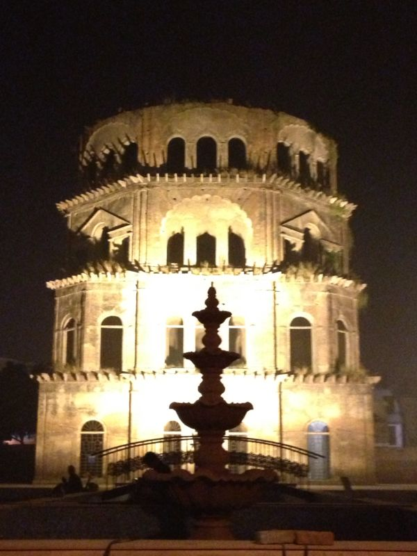 Satkhanda-An unfinished 7-storeyed tower in the heritage zone at Husainabad Lucknow