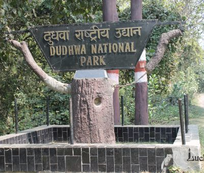 Picture of Entrance at Dudhwa national park India