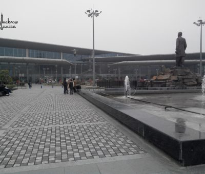 Picture of the new terminal at chaudhari charan singh airport, Lucknow