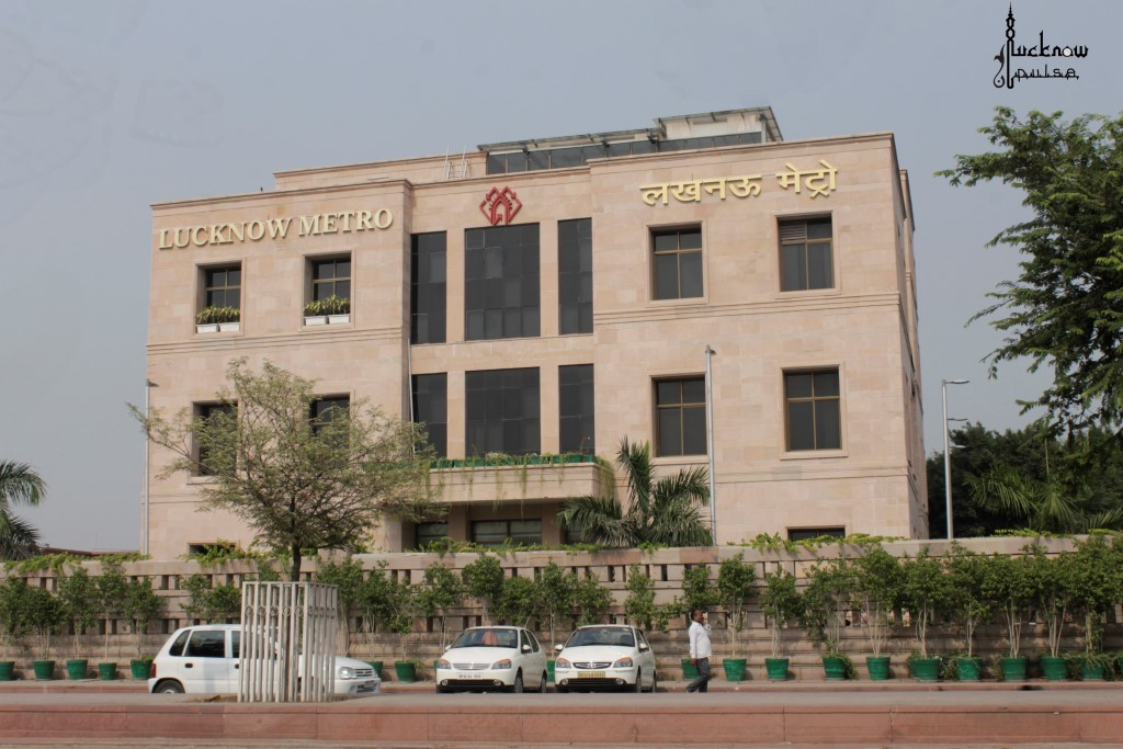 Pic of Lucknow MetroRail Corporation HQ at Lucknow