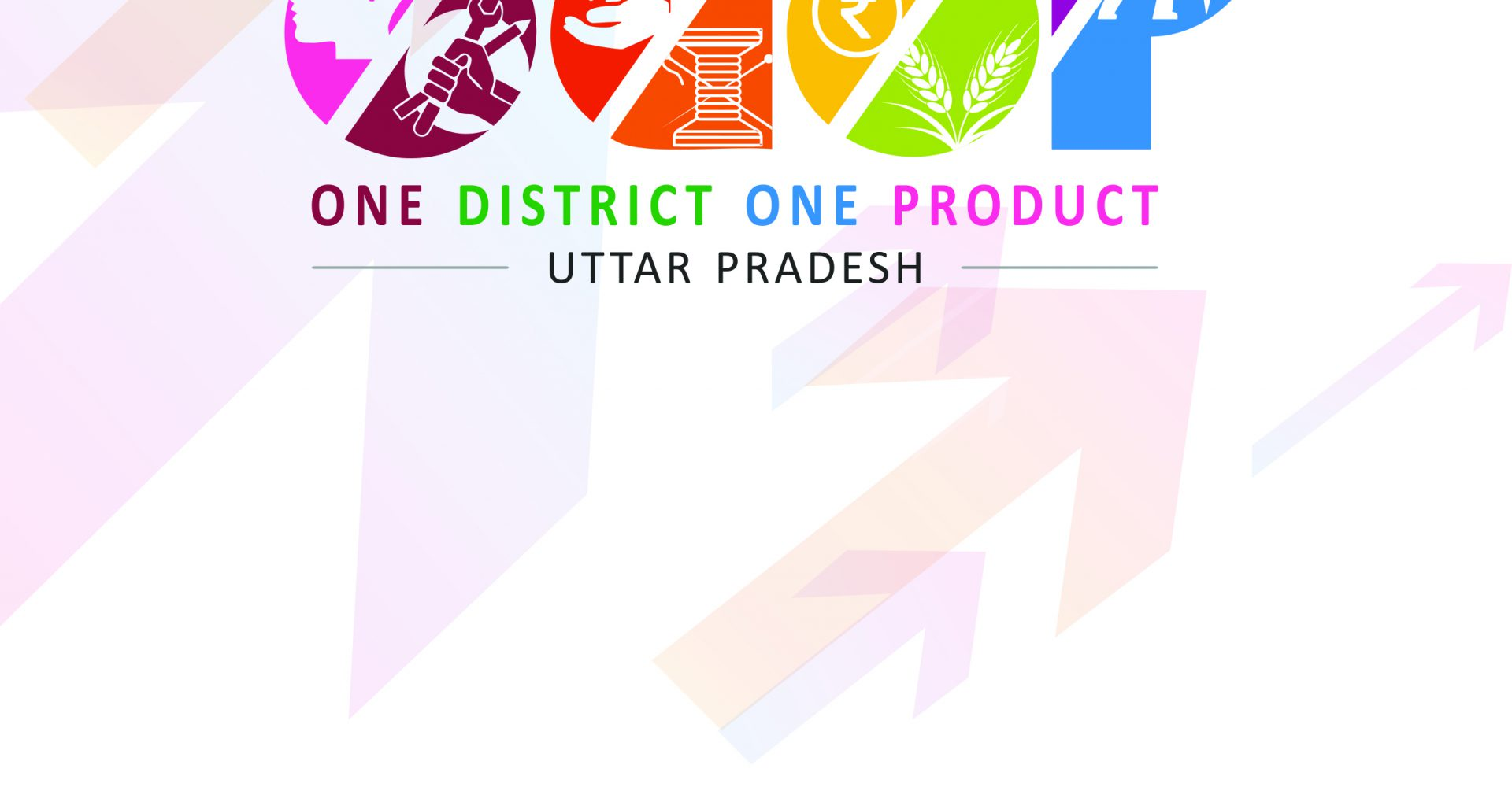 Logo of: ODOP - one district one product - Uttar Pradesh