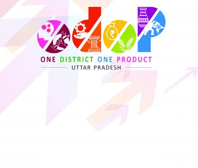 Logo of: ODOP - one district one product - Uttar Pradesh