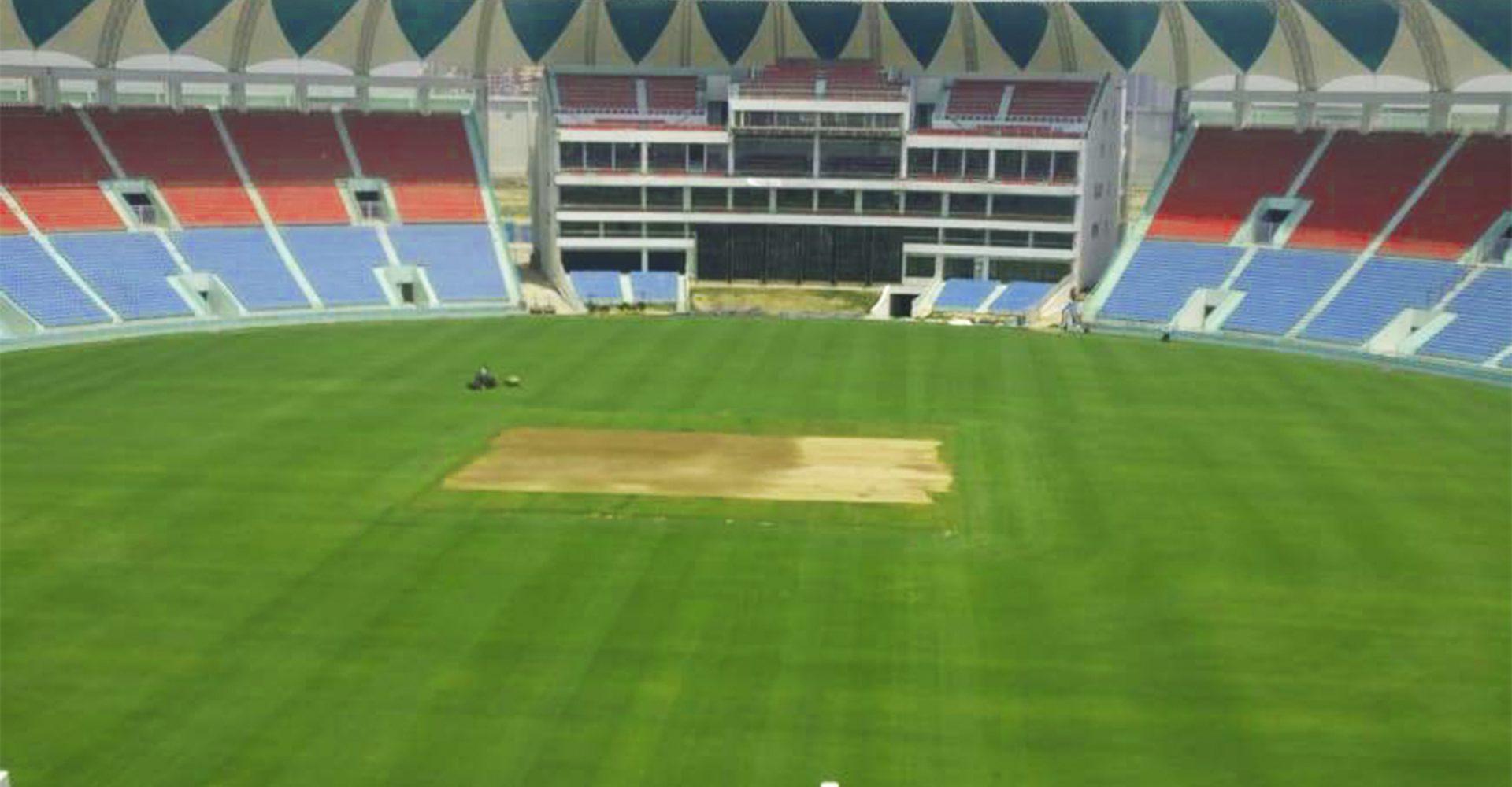 Picture of Ekana Lucknow Cricket Stadium of international standard