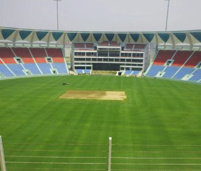 Picture of Ekana Lucknow Cricket Stadium of international standard