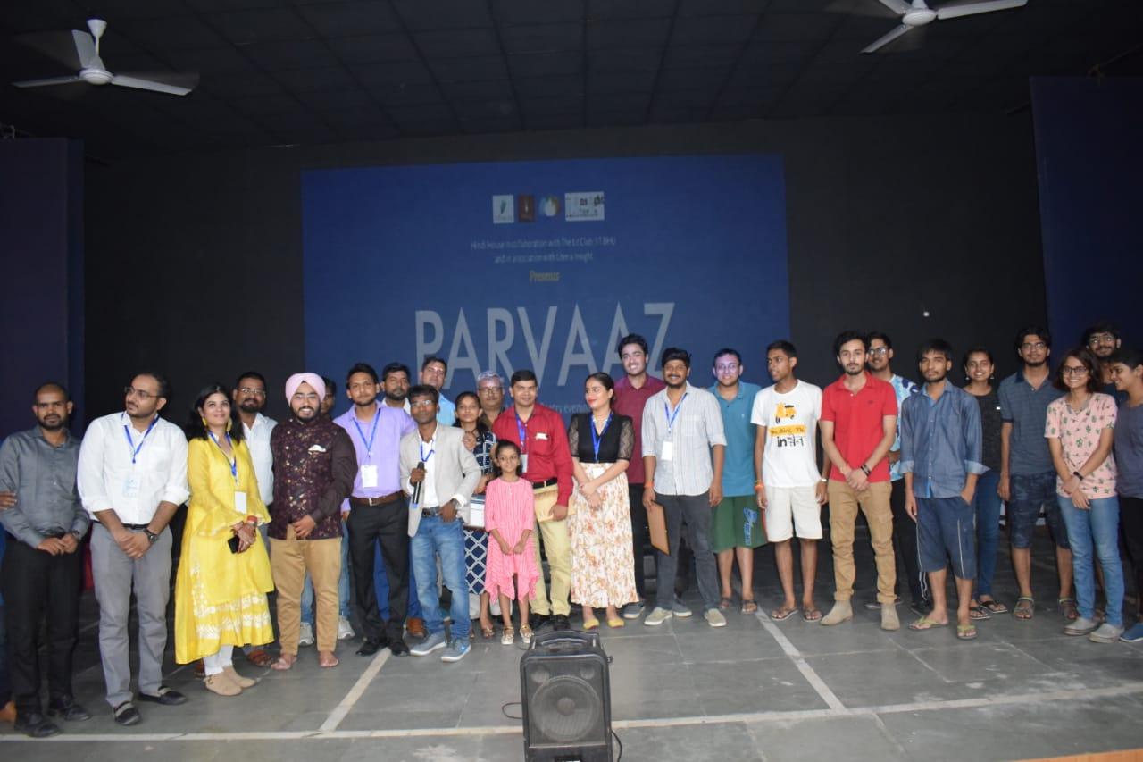 Group photo of team at the The Lit Club event at Varanasi (Banaras) where LucknowPulse was Digital Media partner