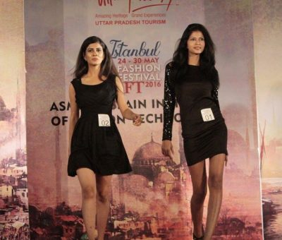 models on rampwalk for campus princess lucknow 2016