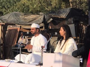 Qissagoi by Himanshu Bajpai at Rifa-e-Aam club for common people of Lucknow. Picture by LucknowPulse.com team.